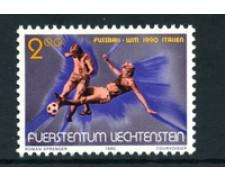 1990 - LOTTO/23368 - LIECHTENSTEIN - MONDIALI DI CALCIO - NUOVO