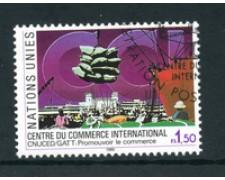 1990 - LOTTO/23375U - ONU SVIZZERA - COMMERCIO INTERNAZIONALE - USATO