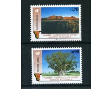 1991 - LOTTO/23377 - ONU SVIZZERA -  NAMIBIA NAZIONE 2v. - NUOVI