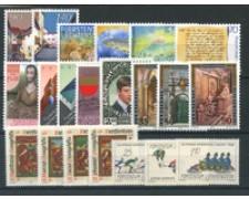 1987 - LOTTO/23403 - LIECHTENSTEIN - ANNATA CPL. 21v. - NUOVI