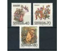 1983 - LOTTO/23414 - LIECHTENSTEIN - COSTUMI DI CARNEVALE 3v. . - NUOVI