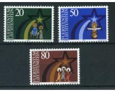1983 - LOTTO/23419 - LIECHTENSTEIN - NATALE 3v. - NUOVI