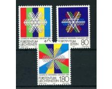 1983 - LOTTO/23420 - LIECHTENSTEIN - OLIMPIADI INVERNALI 3v. - NUOVI