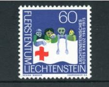 1975 - LOTTO/23496 - LIECHTENSTEIN - CROCE ROSSA 1v. - NUOVO