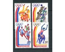 1976 - LOTTO/23506 - LIECHTENSTEIN - OLIMPIADI MONTREAL 4v. - NUOVI