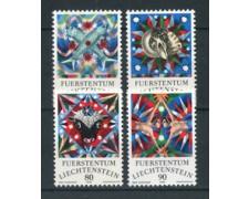 1976 - LOTTO/23508 - LIECHTENSTEIN - SEGNI ZODIACO 4v. - NUOVI