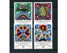 1977 - LOTTO/23510 - LIECHTENSTEIN - SEGNI ZODIACO 4v. - NUOVI