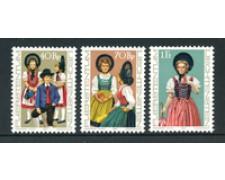 1977 - LOTTO/23515 - LIECHTENSTEIN - COSTUMI NAZIONALI 3v. - NUOVI
