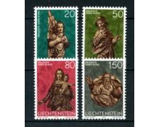 1977 - LOTTO/23517 - LIECHTENSTEIN - NATALE 4v. - NUOVI