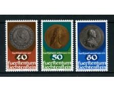 1978 - LOTTO/23522 - LIECHTESTEIN - MONETE E MEDAGLIE 3v. - NUOVI