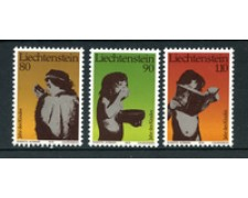 1979 - LOTTO/23526 - LIECHTENSTEIN - ANNO FANCIULLO 3v. - NUOVI