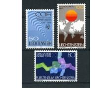 1979 - LOTTO/23528 - LIECHTENSTEIN - AVVENIMENTI 3v. - NUOVI