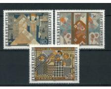 1979 - LOTTO/23530 - LIECHTESTEIN  - NATALE ARAZZI 3v. - NUOVI