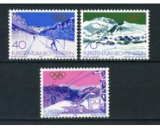 1979 - LOTTO/23531 - LIECHTENSTEIN - OLIMPIADI INVERNALI 3v. - NUOVI