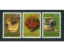 1980 - LOTTO/23534 - LIECHTENSTEIN - ANTICHI ATREZZI 3v. - NUOVI