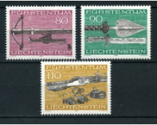 1980 - LOTTO/23536 - LIECHTENSTEIN - ARMI DA CACCIA 3v. - NUOVI