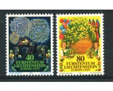 1981 - LOTTO/23540 - LIECHTENSTEIN - EUROPA 2v. - NUOVI