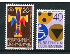 1981 - LOTTO/23543 - LIECHTENSTEIN - AVVENIMENTI 2 v. - NUOVI