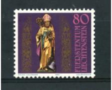 1981 - LOTTO/23545 - LIECHTENSTEIN . SAN TEODULO 1v. - NUOVO