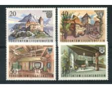 1981 - LOTTO/23546 - LIECHTENSTEIN - CASTELLO DI GUTEMBERG 4v. - NUOVI