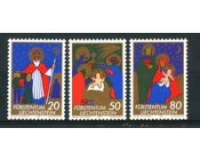 1981 - LOTTO/23548 - LIECHTENSTEIN -  NATALE 3v. - NUOVI