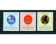 1970 - LOTTO/23552 - LIECHTENSTEIN - STEMMI DEI PATRONI 3v. - nuovi