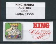MARINI KING - FOGLI AUSTRIA 1990 - LOTTO/23556