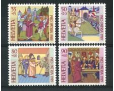 1989 - LOTTO/23566 - SVIZZERA - PRO PATRIA 4v. - NUOVI