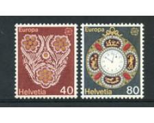 1976 - LOTTO/23569 - SVIZZERA - EUROPA 2v. - NUOVI
