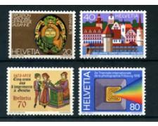1978 - LOTTO/23575 - SVIZZERA - PROPAGANDA 4v. - NUOVI