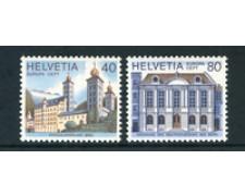 1978 - LOTTO/23576 - SVIZZERA - EUROPA 2v. - NUOVI