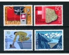 1985 - LOTTO/23583 - SVIZZERA - PROPAGANDA 4v. - NUOVI
