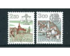 1985 - LOTTO/23584 - SVIZZERA - SEGNI ZODIACO 2v. - NUOVI