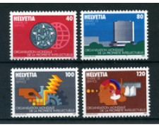 1982 - LOTTO/23592 - SVIZZERA -  SERVIZIO OMPI 4v. - NUOVI