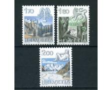 1983 - LOTTO/23595 - SVIZZERA - ZODIACO 3v. - NUOVI