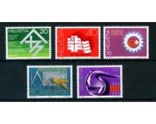 1982 - LOTTO/23600 - SVIZZERA - PROPAGANDA 5v. - NUOVI