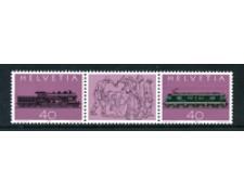 1982 - LOTTO/23601 - SVIZZERA - FERROVIA DEL GOTTARDO 2v. - NUOVI