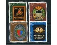 1981 - LOTTO/23608 - SVIZZERA  - PRO PATRIA 4v. - NUOVI