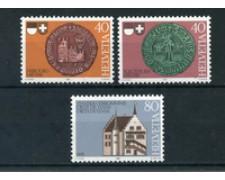 1981 - LOTTO/23609 - SVIZZERA - DIETA DI STANS 3v. - NUOVI