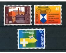 1977 - LOTTO/23634 - SVIZZERA - PROPAGANDA II° 3v. - NUOVI