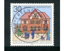 1991 - LOTTO/23694 - GERMANIA FEDERALE  - 30+15 BENEFICENZA - USATO