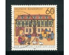 1991 - LOTTO/23695 - GERMANIA FEDERALE - 60+30 BENEFICENZA - USATO