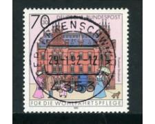1991 - LOTTO/23696 - GERMANIA FEDERALE - 70+30 BENEFICENZA - USATO