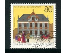 1991 - LOTTO/23697 - GERMANIA FEDERALE - 80+35 BENEFICENZA - USATO