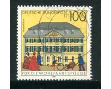 1991 - LOTTO/23698 - GERMANIA FEDERALE - 100+50 BENEFICENZA - USATO