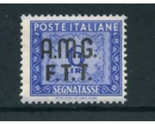 1947/49 - LOTTO/23725 - TRIESTE A - 6 LIRE OLTREMARE  SEGNATASSE - NUOVO