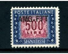 1949/54 - LOTTO/23728 - TRIESTE A - 500 LIRE SEGNATASSE - NUOVO