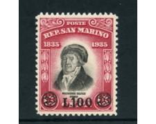 1948 - LOTTO/23740 - SAN MARINO -  DELFICO SOPRASTAMPATO - NUOVO