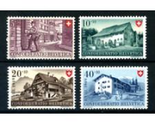 1949 - LOTTO/23851 - SVIZZERA - PRO PATRIA 4v. - NUOVI
