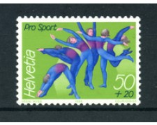 1989 - LOTTO/23853 - SVIZZERA - PRO SPORT 1v. - NUOVO